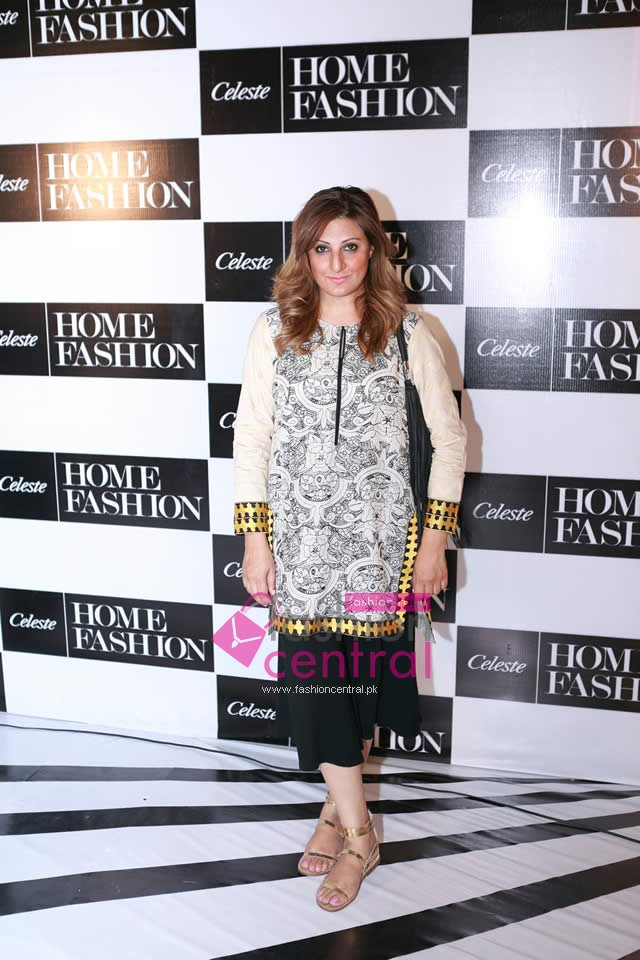 Celeste Home Fashion By Sahar Malik Launching In Lahore