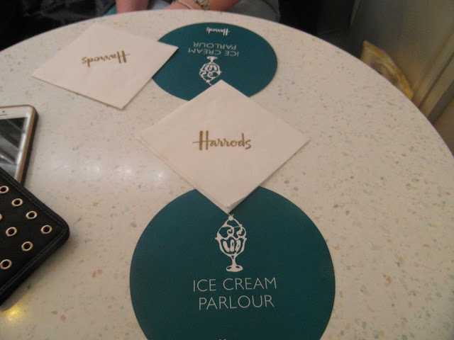 Harrods Ice Cream Parlour