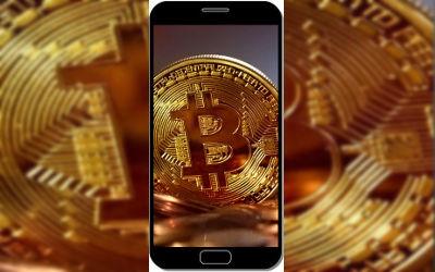 Crypto Monnaie Bitcoin - Fond d'Écran en QHD pour Mobile