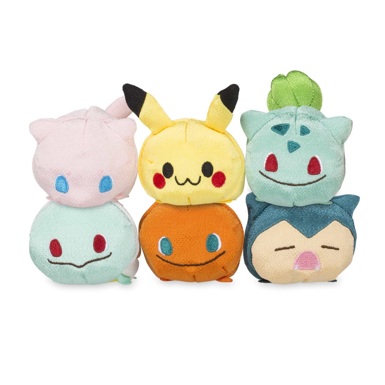 Nueva colección de peluches pokémon anunciada