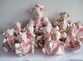 Ursas Para Decoração de Festas- Pós Festas