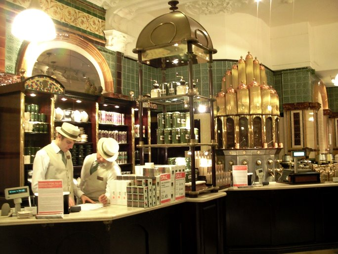 Coffee in Harrods