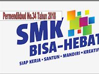 Permendikbud nomor 34 Tahun 2018 Tentang Standar Nasional Pendidikan SMK/MAK