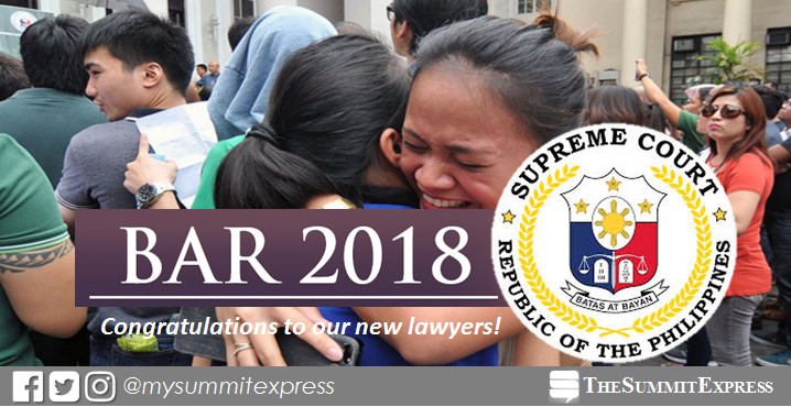 LIVE UPDATES: SC releases 2018 bar exam results today