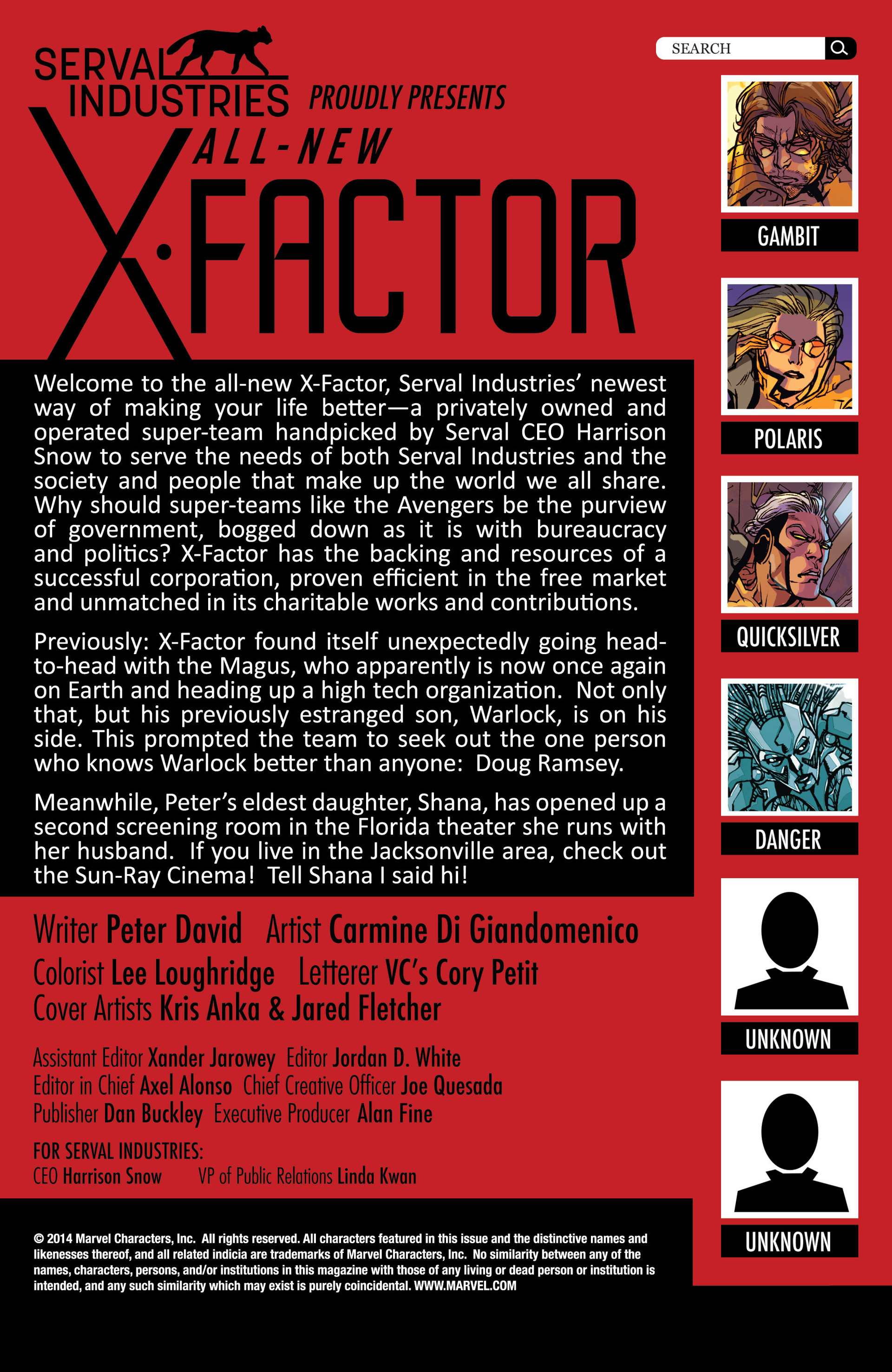 Read online All-New X-Factor comic -  Issue #6 - 2