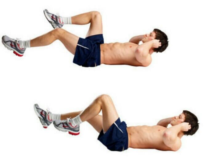 olahraga untuk membentuk otot perut