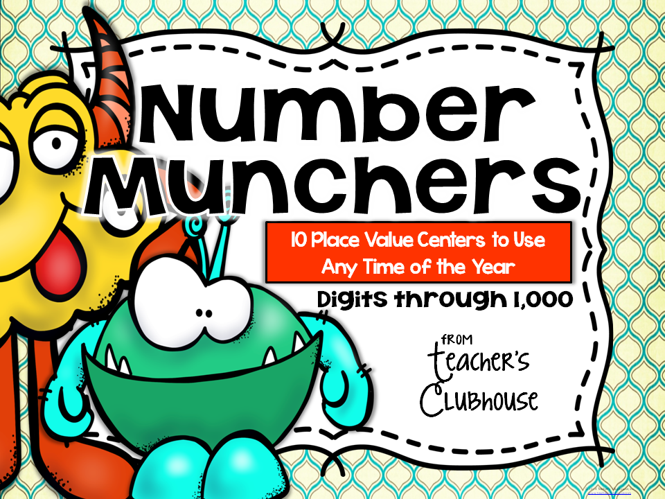 http://www.teacherspayteachers.com/Product/Any-Time-Series-Number-Munchers-Centers-Unit-1509328