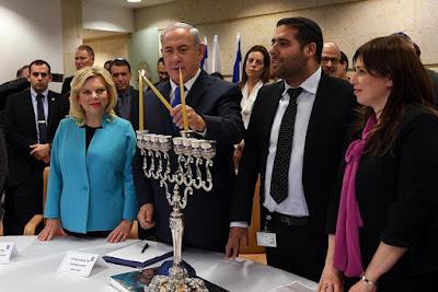 A celebração do feriado judaico de chanucá começa em Israel