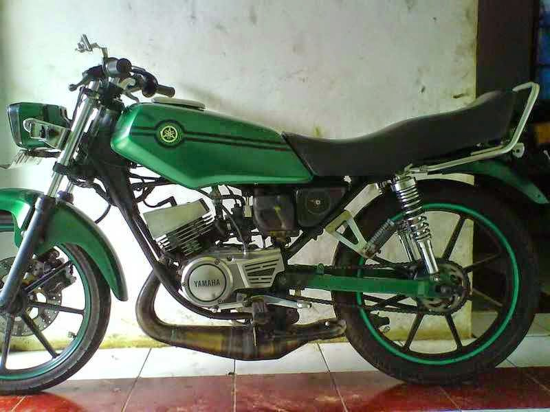 Gambar Modifikasi Motor Yamaha RX KING