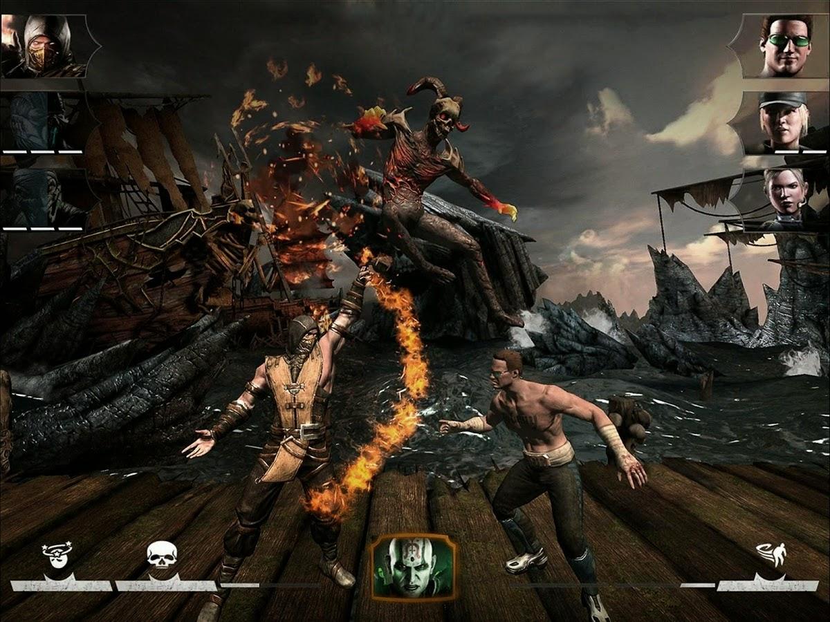 download game mortal kombat x apk   data