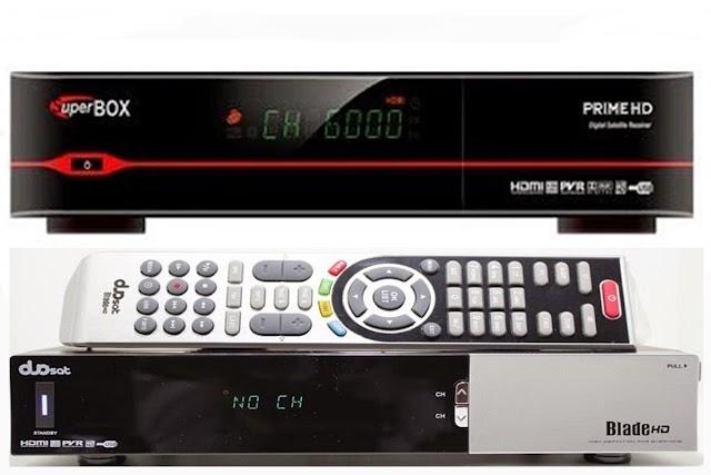 SUPERBOX PRIME HD EM DUOSAT BLADE HD NOVA ATUALIZAÇÃO MODIFICADA - 11/04/2018