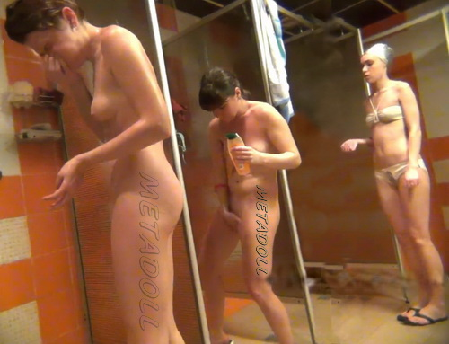 Shower Spy 320-326 (Hidden cam in shower room with many nude girls)