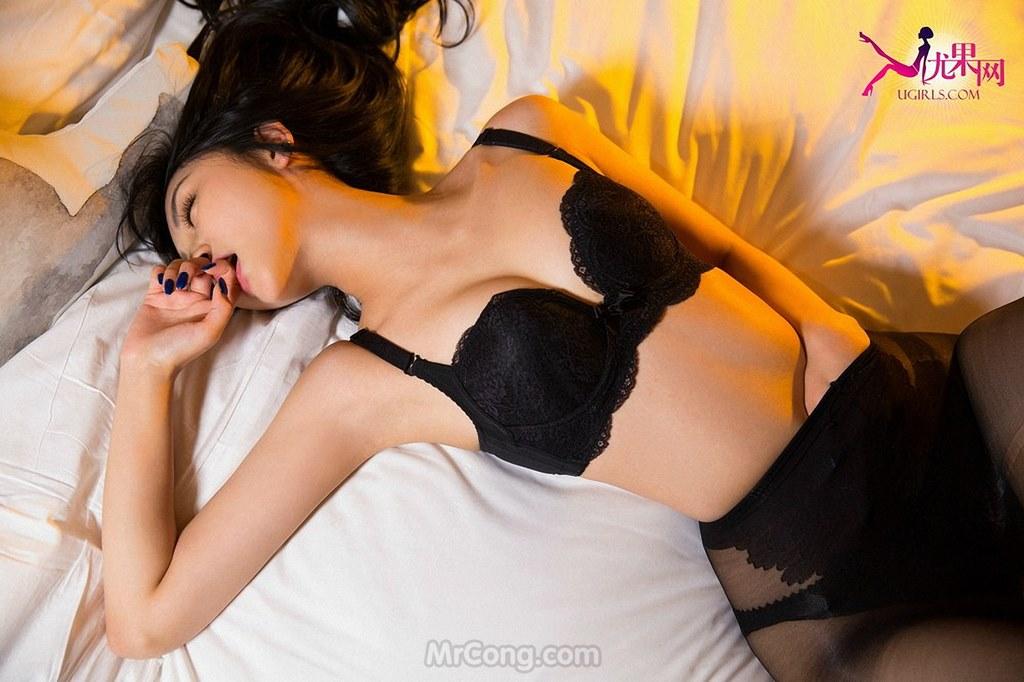 Beauty Zhang Xin (张鑫) đẹp mê hồn với nội y trong bộ ảnh UGIRLS 147