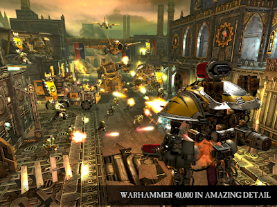 Tampilan Game Warhammer 40,000 Freeblade