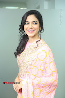 Actress Ritu Varma Pos in Beautiful Pink Anarkali Dress at at Keshava Movie Interview .COM 0106.JPG