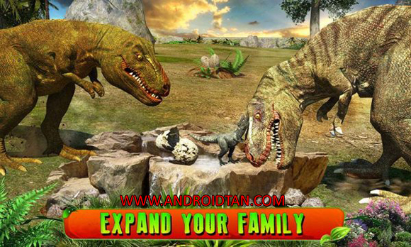 Free Download Ultimate T-Rex Simulator 3D Mod Apk v1.2 (Mod Skill Points) Terbaru Gratis 2017
