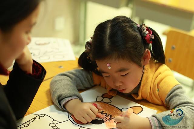 Lớp dạy học vẽ cho thiếu nhi tại TP HCM