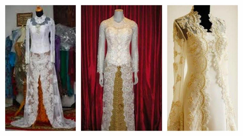 Kumpulan Foto Model Baju Kebaya Akad Nikah - Trend Baju Kebaya