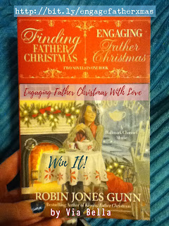 Engaging Father Christmas With Love (Win It) , Christmas books, Robin Jones Gunn, Faith Words, Love, Hope, Christmas, Holidays, Book Review, Christmas Books