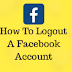 How to Logout Of Facebook On iPhone |  Facebook Mobile Log Out
