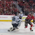 Aaron Dell spears Sam Bennett, no penalty called (Video)