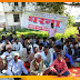 मुरलीगंज में बाढ़ पीड़ितों ने दस सूत्री मांग को लेकर दिया एक दिवसीय धरना