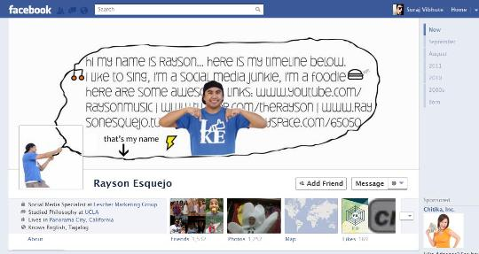 facebook timeline creative profile 17