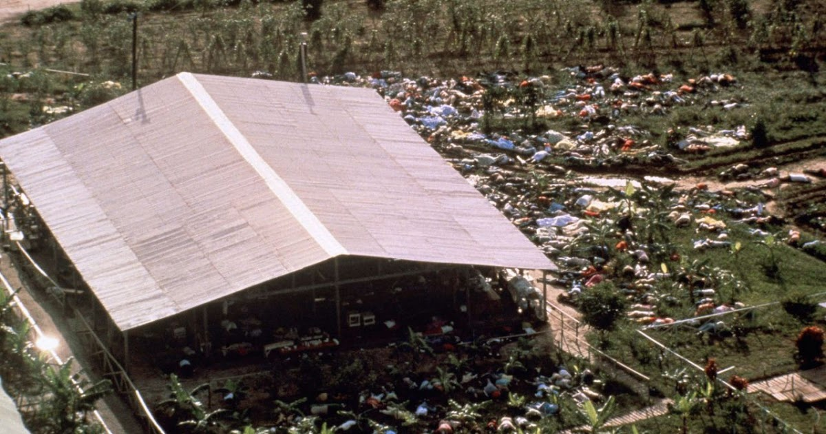 Horrible Photos From the 1978 Jonestown Massacre, the Worst Mass Murder-Suicide in U.S. History