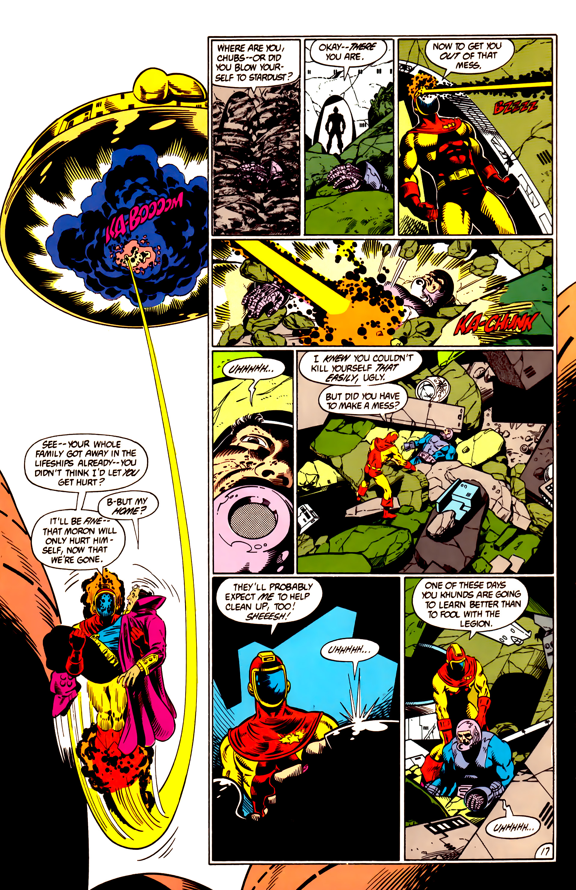 Legion of Super-Heroes (1984) 10 Page 18