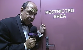 WCW REVIEW - BASH AT THE BEACH 1996 - Mean Gene speculates on who the third man is