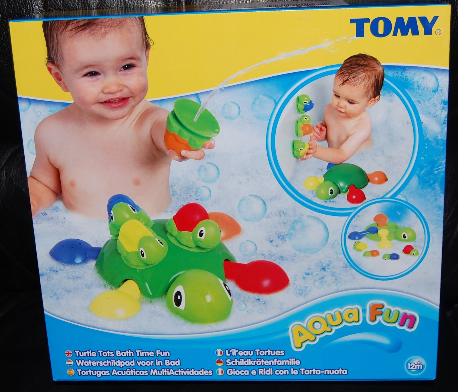 Bath Time Means Fun Time With Tomy Aqua Fun Toys - My Three and Me
