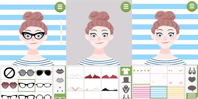 doodle face, como usar doodle face, app de ilustração, o que é doodle face,