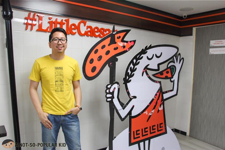 Renz Cheng in Little Caesars, Manila