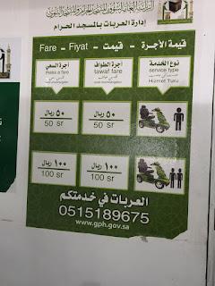 Kereta Elektrik Untuk Kemudahan Jemaah Haji Di Mekah