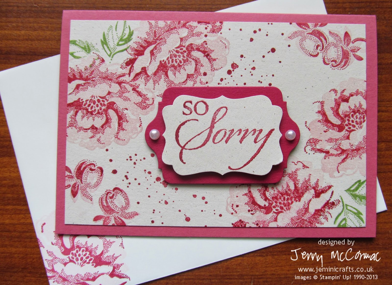 www.jeminicrafts.co.uk Sympathy Cards 2014