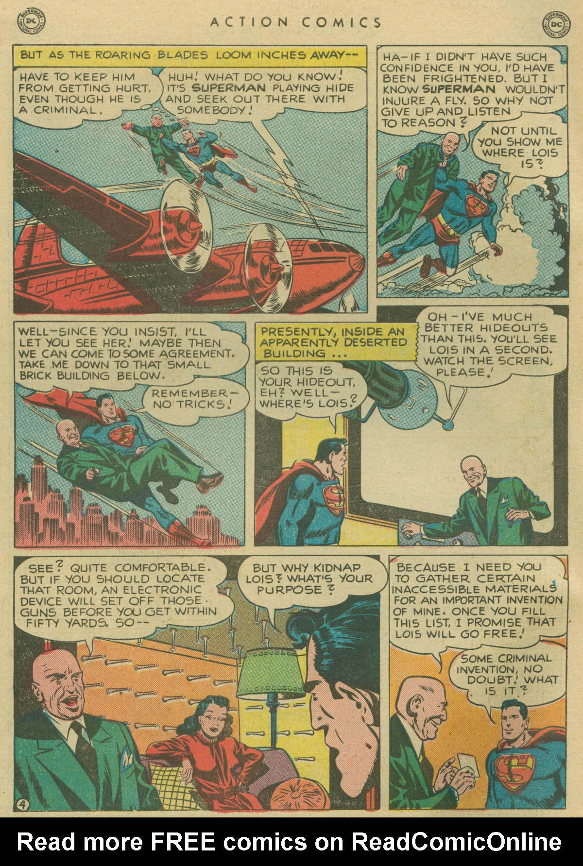 Read online Action Comics (1938) comic -  Issue #141 - 5