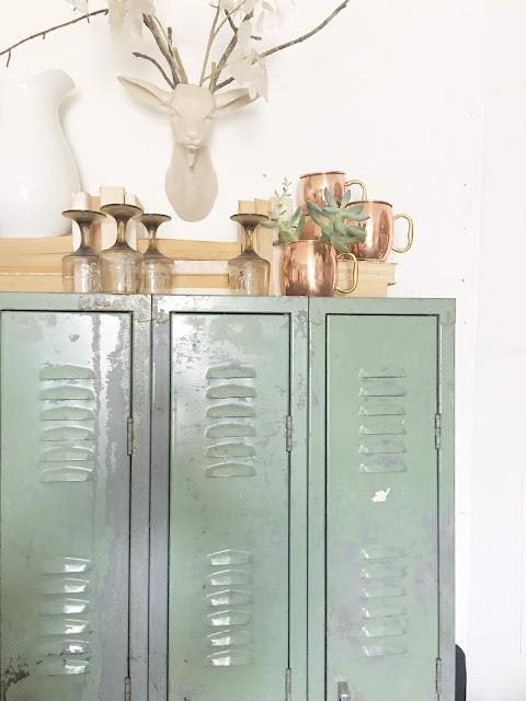 lockers as a pantry