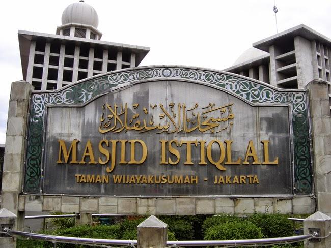 Mezquita Istiqlal en Yakarta