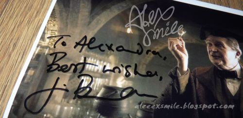 Jim Broadbent  autograph Horacy Slughorn Autograf