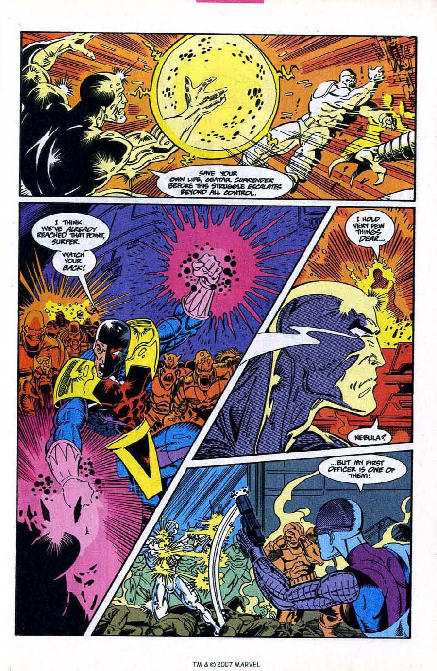Read online Silver Surfer (1987) comic -  Issue #78 - 21