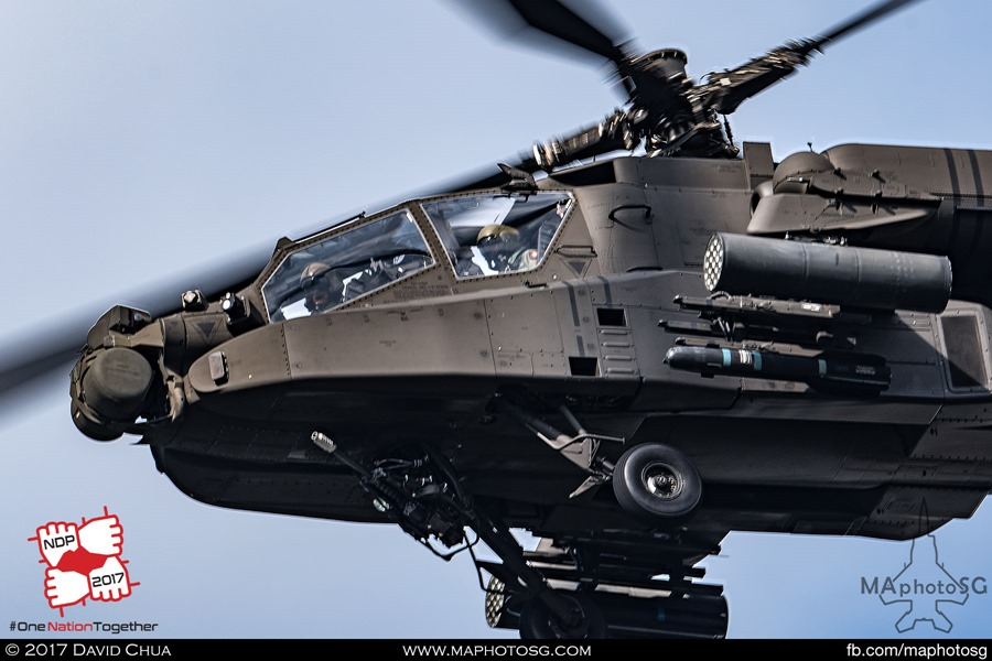Upgraded AH-64D Apache (SN 01-2069)
