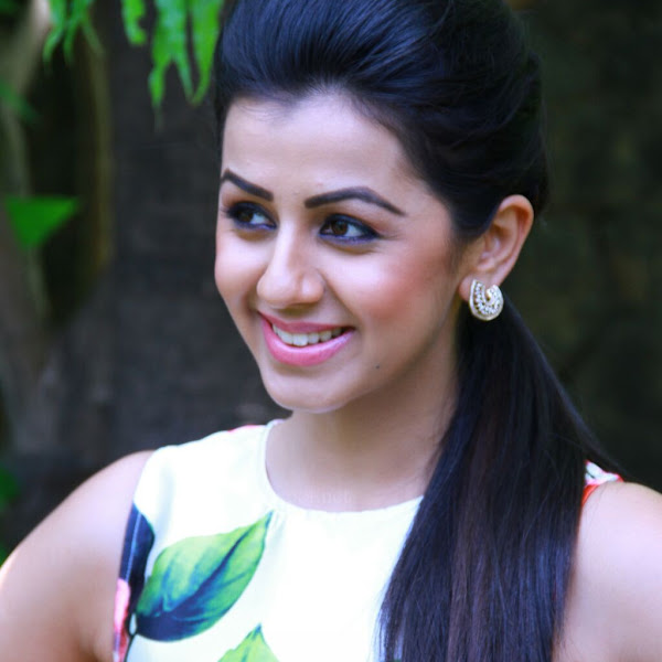 Nikki Galrani latest photos from Velainu Vandhutta Vellaikaaran Press Meet