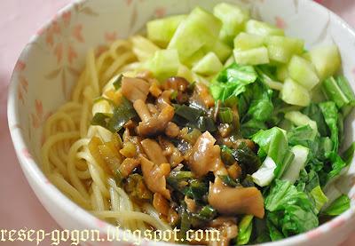 Resep Mie Ayam Sayur