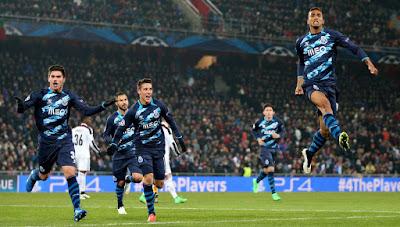 Porto 10 Besar Rangking Klub UEFA 2014/15