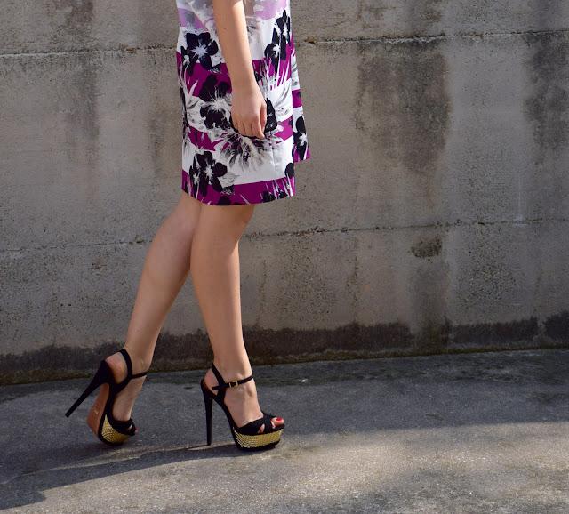 abito stampato felicia magno primavera estate 2017 felicia magno printed dress