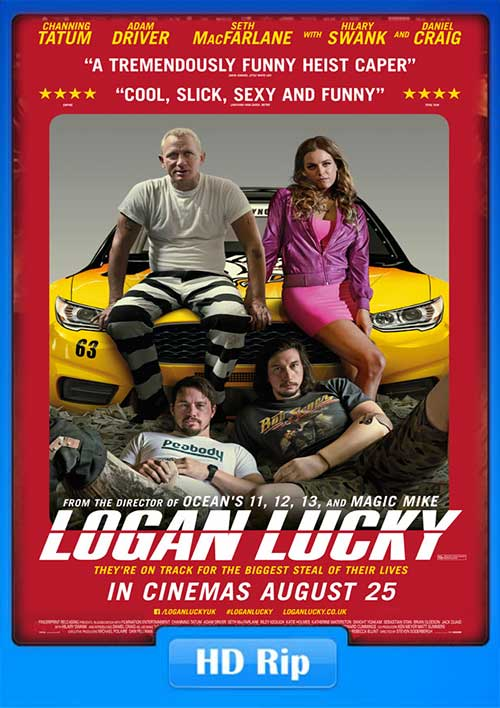 Logan Lucky 2017 720p WEB-DL 950MB Poster