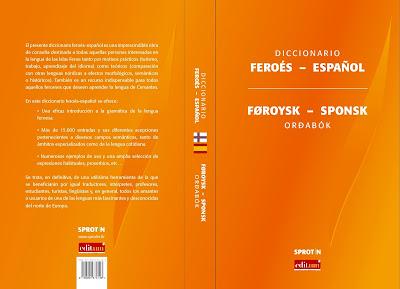 Resultado de imagem para Diccionario feroés-español/Føroysk-sponsk orðabók.