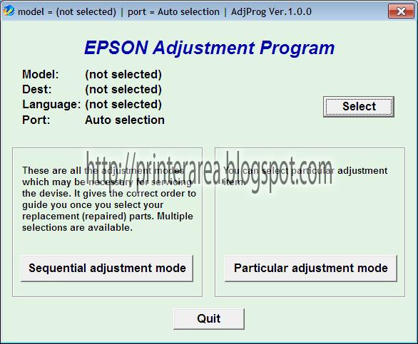 Cara Reset Epson L 550 | Pusat Tutorial