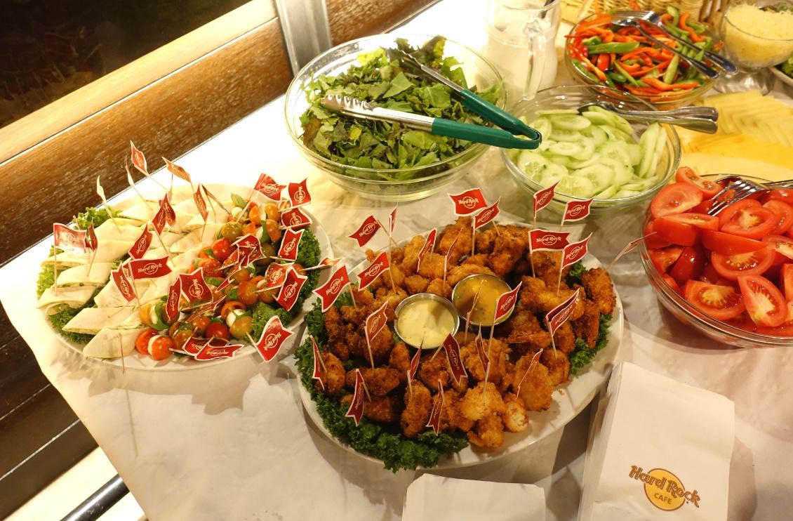 Eventbericht - beautypress Blogger Event im Hard Rock Café Köln - Food Burgerstation