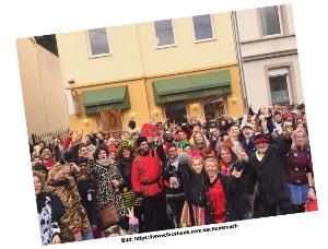 Bad Godesberg - Karneval mit Aach und Krach - Ein Wimmelbild... wo bin ich?